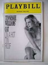 CAT ON A HOT TIN ROOF Playbill KATHLEEN TURNER / DANIEL HUGH KELLY Tryout 1990
