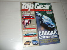 TopGear July 1998 Fiat Coupe Turbo Lotus Esprit V8 Nissan Skyline GTR R33 Aston
