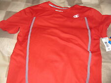 Nwt Champion Perform Men's Fitness Training Short Sleeve Shirt Size S Look!