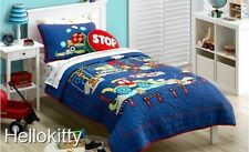 Freckles Build it Kids Quilted SB & King SB Coverlet + 1 P/case BNIB RRP $309.90