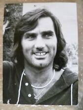 Original Press Photo- GEORGE BEST Manchester United FC Player