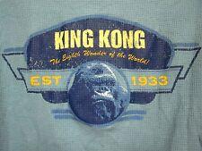 King Kong youth lrg thermal shirt 2005 film Peter Jackson kids tee Eighth Wonder