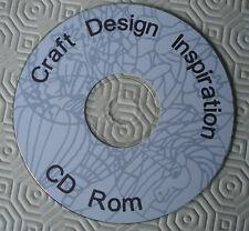 Craft Design Inspiration card making CD Rom