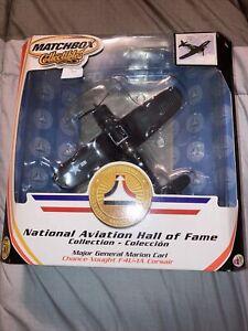 Matchbox Collectibles National Aviation Hall Of Fame F4U-1A Maj Gen Marion Carl