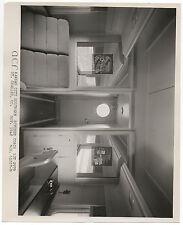 Large 1948 Kansas City Southern Promo Railroad Photo of Divided Coach (3)