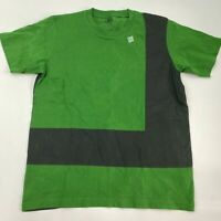 Uniqlo MoMa Special Edition T Shirt Men's M Short Sleeve Green Gray Color Rhythm