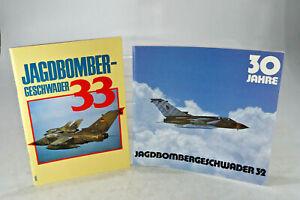 alte Bundeswehr Luftwaffe  Informationsschrift Jagdbombergeschwader 32 + 33