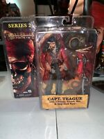 "Capt Teague Pirates of the Caribbean at Worlds End 6"" Action Figure Series 2 NEW"