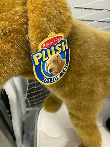 Melissa and Doug Stuffed Plush Yellow Lab
