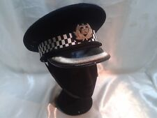 VERY RARE HIGHLY COLLECTABLE VINTAGE HIGH RANKING POLICE CAP HAT