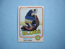 1981/82 O-PEE-CHEE NHL HOCKEY CARD #289 MIKE LIUT NM SHARP!! 81/82 OPC