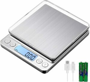 Portable 3000g x 0.1g Digital LCD Scale Jewelry Kitchen Food Balance Weight Gram