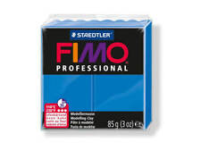 True Blue Fimo Professional Polymer Modelling Oven Bake Clay 85g - True Blue