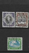 Cook Islands 1938 set FU