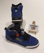Nike Air Jordan Spizike GS Knicks Blue Ribbon Basketball Trainers UK 6 UNISEX