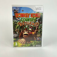 Donkey Kong Country Returns Nintendo Wii (PAL) 2010 - 100% Complete With Manual