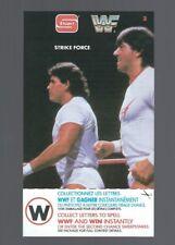 1987 Stuart  **Strike Force, #3**  WWF Wrestling BIG Card