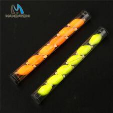 Float Foam strike indicator Fly fishing 2 Tube 12 pieces 3/4 inch  Yellow&Orange
