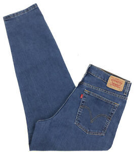 vtg 90s LEVI'S 512 Classic Slim Tapered High Rise Jeans Womens 14