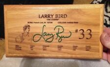 Larry Bird boston celtics,indiana pacers, Springs Valley Autographed Gym Floor