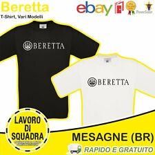 T-Shirt BERETTA caccia Militaria Softair Uomini Donne Unisex Top Militare Italy