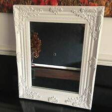 french ornate wooden wall mirror ornate dressing table wall cream wood mirror