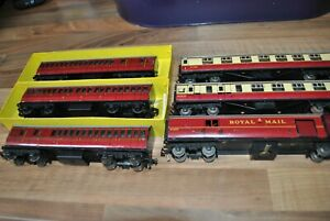 OO Gauge Collection of Hornby Dublo 3 Rail Tinplate Coaches - Excellent Job Lot