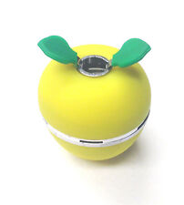 Apple Head Hookah bowl heat resistant high quality aluminum silicone (yellow)