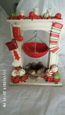 NEW Yankee Candle Hanging Tart Warmer HOLIDAY STOCKING Burner Christmas