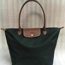 NEW Longchamp Le Pliage Black tote bag Large L
