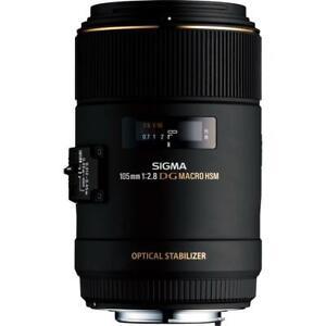 Sigma 105mm Macro F2.8 EX DG OS HSM Lens - Nikon Fit