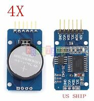 4X DS3231 AT24C32 IIC  precision Real time clock RTC memory module For Arduino