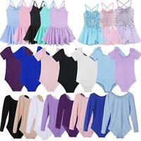 Toddler Girl Ballet Gymnastics Leotard Dance Dress Tutu Skirt Dancewear Costume