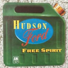 "HUDSON FORD-""Free Spirit"" 1974 A&M Records Promo Sticker- 3 1/2""-Square-MINT!!!"