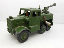 1101 DINKY TOYS ORIGINAL RECOVERY TRACTOR 661 MILITARY GRUA MILITAR 2WW MECCANO
