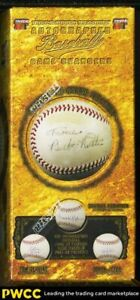 2014 Tri-Star Hidden Treasures Game Changers Autographed Baseball, Trout Jeter?