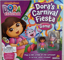 "Dora the Explorer ""Dora's Carnival Fiesta Game""  New in Box ~ 6 GAMES INCLUDED"