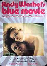 Andy Warhol's Blue Movie Filmposter A1 Viva, Louis Waldon Erotik Sickert