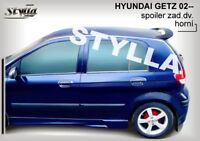 SPOILER REAR ROOF TAILGATE FITS FOR HYUNDAI GETZ WING ACCESSORIES