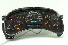 03 - 05 REBUILT CHEVY GMC DURAMAX Diesel Instrument Cluster $70 Money Back