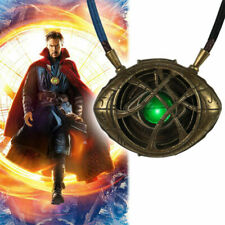 Doctor Strange Pendant Eye Of Agamotto Luminous Pendant Necklace Cosplay Props