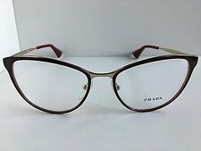 New PRADA VPR 5T5 6UF-1O1 54mm Red Cats Eye Women Eyeglasses Frame  #7