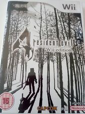 WII WIIU RESIDENT EVIL 4 WII EDITION PAL UK