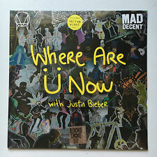 SKIRILLEX + JUSTIN BIEBER - WHERE ARE U NOW YELLOW 12'' RECORD STORE DAY SEALED