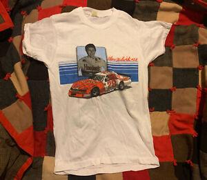 Vintage Alan Kulwicki T-Shirt Medium 1985 Hardee's #28 NASCAR