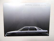 Catalogue HONDA LEGEND 2.5-V6