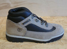 VINTAGE TIMBERLAND FIELD BOOT GRAY BLACK YOUTH PS SZ 2.5 15713