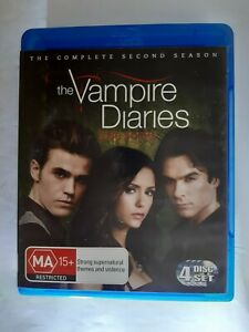 VAMPIRE DIARIES - THE COMPLETE SECOND SEASON - S2 - BLU-RAY