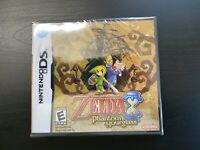 Legend of Zelda Phantom Hourglass Nintendo DS Brand New Sealed in Box USA SHIP