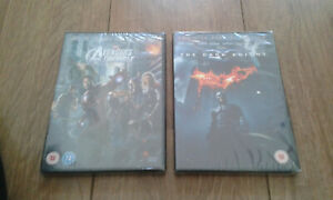 DVD Marvel Avengers Assemble Batman The Dark Knight 2 Disc Special Edition - NEW